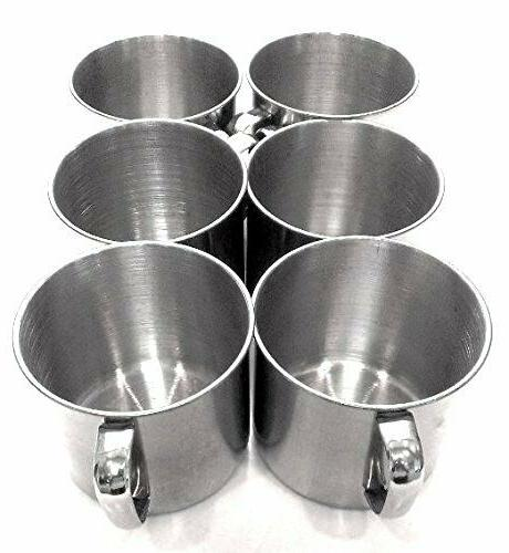 6 Stainless Steel Coffee Soup Tumbler