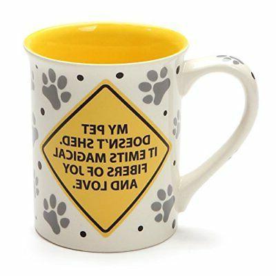 Enesco Name is Caution Pet oz,