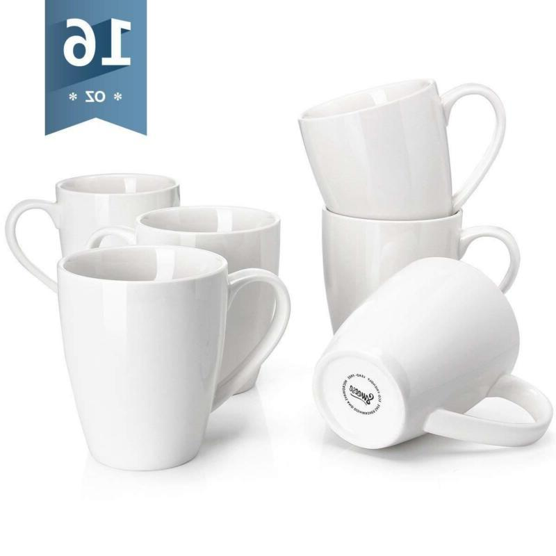6201 porcelain mugs 16 ounce for coffee
