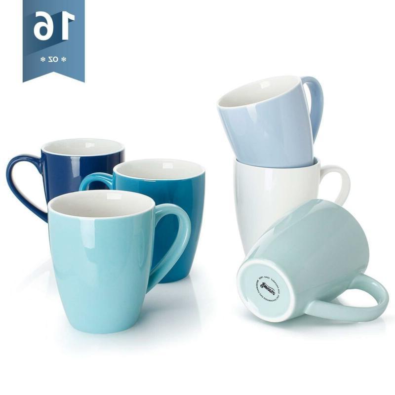 6203 porcelain mugs 16 ounce for coffee