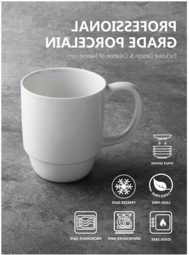 Sweese 6218 Stackable Mug 16 Cocoa and