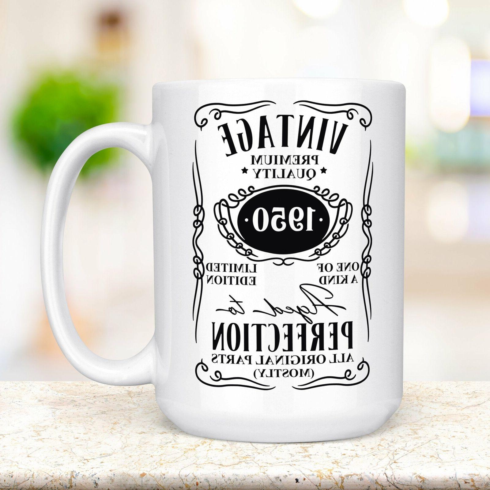 70th birthday gift funny coffee mug microwave