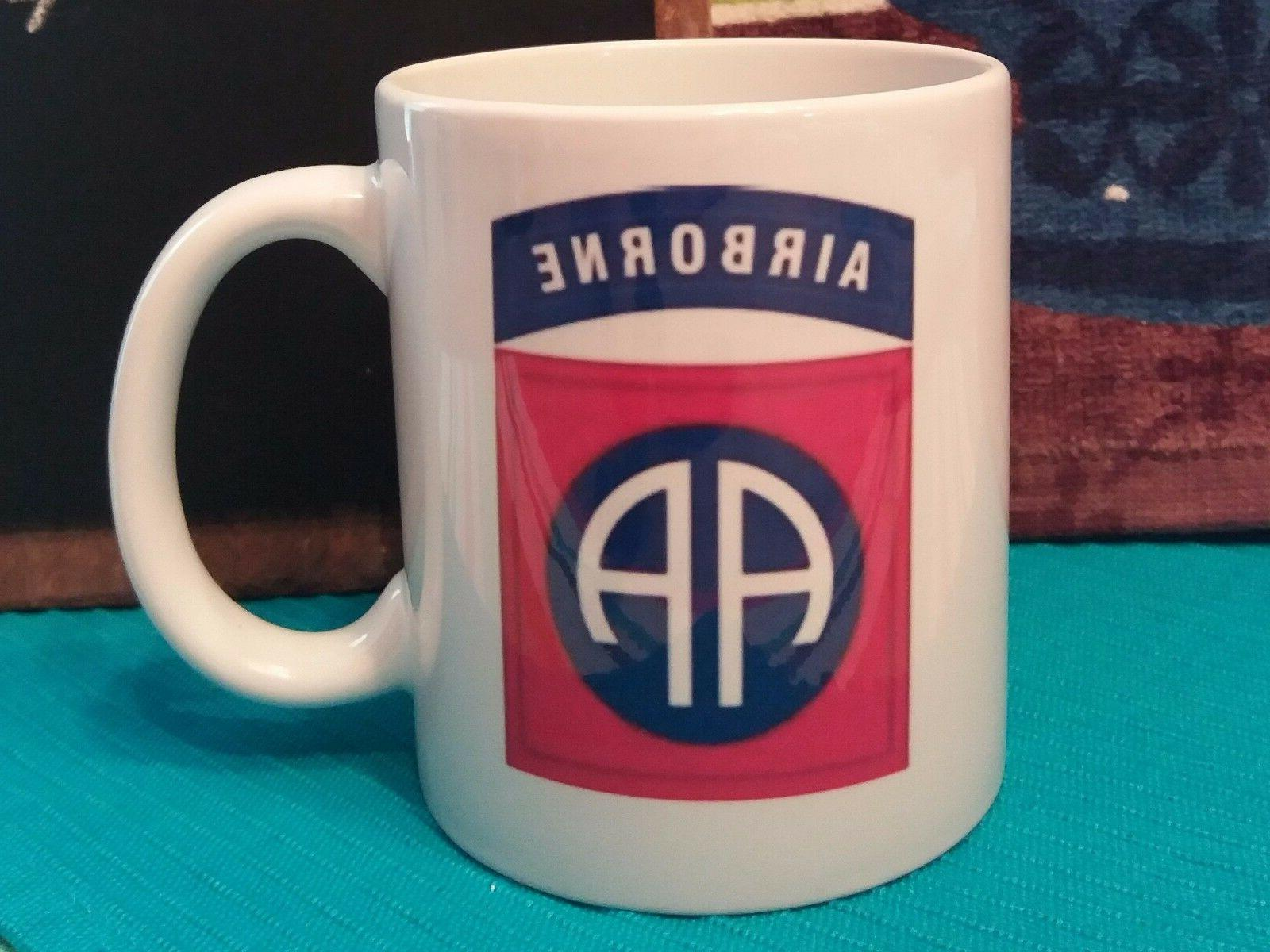 82nd airborne division patch classic coffee mug