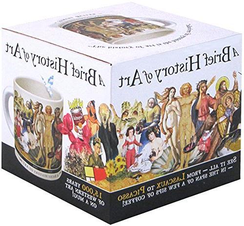 Brief Art Coffee Greatest Masterpieces Da Vinci Koons Comes in Gift Box