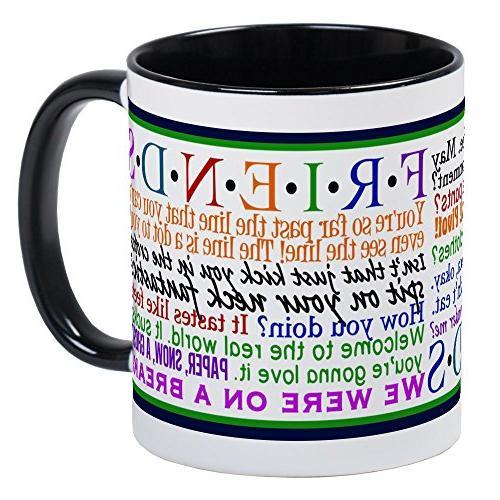 CafePress Friends TV Quotes Unique Coffee Mug, Coffee Cup