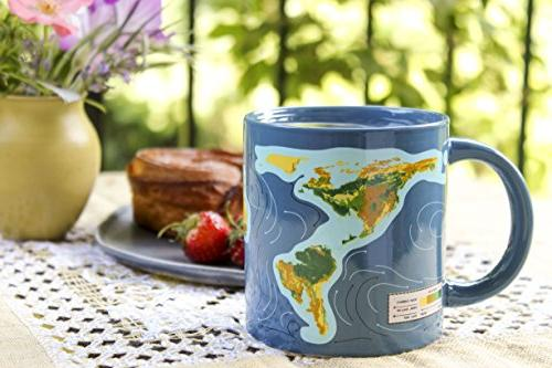 Climate Disappearing Mug Add Liquid and What Will When The Ice Melt Comes in a Gift Box The