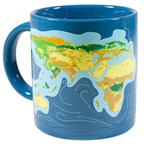 Climate Disappearing Coffee Mug - Add Liquid Will When The Ice Caps Melt Gift Box - The Philosophers