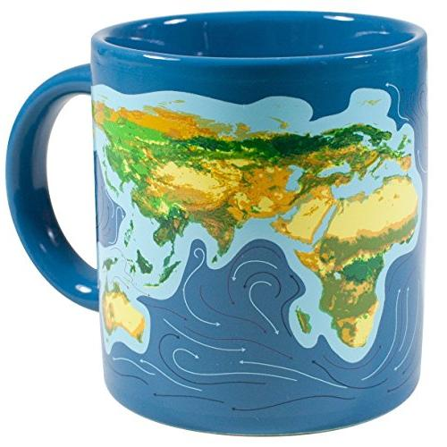 Climate Disappearing Mug Liquid and Watch What Will Happen When Ice Comes Fun Gift Box - The