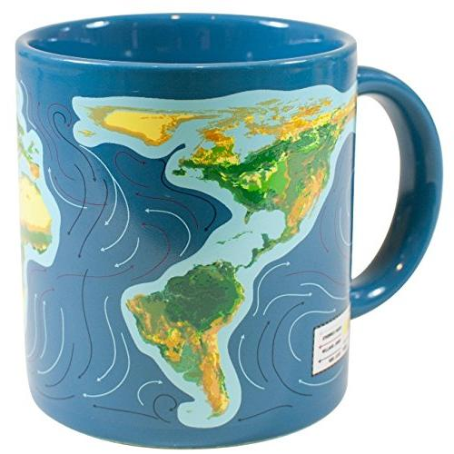 Climate Coffee Mug Liquid Watch Will Ice Caps Comes Gift Box - The