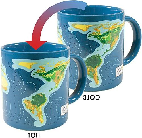Climate Change Disappearing Coffee Mug - Add Hot Liquid and