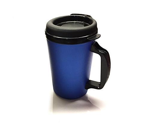 GAMA Electronics 2 Foam Coffee Mug 20 oz & Red