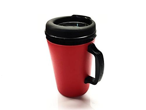 GAMA Electronics ThermoServ Foam Insulated Coffee Mug 20 w/Lids &