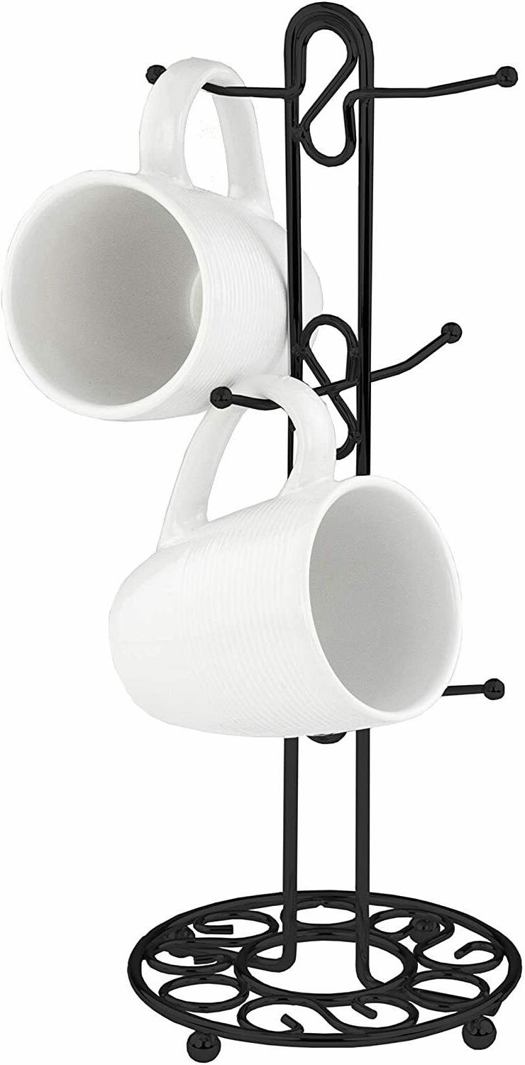 Home Basics Black Mug Tree