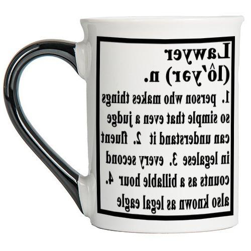 Lawyer Mug, Lawyer Coffee Cup, Ceramic Lawyer Mug, Custom Gi