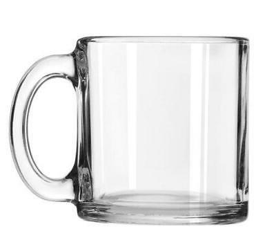 Libbey Robusta Glass Mugs, Set of 12