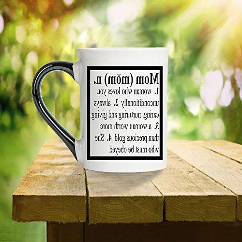 Mom Mug, Cup, Ceramic Mom Mug, Mother's Tumbleweed