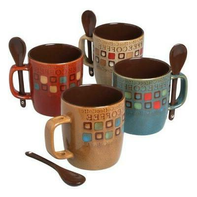 Mr. Coffee 90592.08RM Café Americano 8Piece 14 Ounce Mug Se