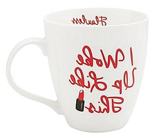 Pfaltzgraff I Woke Up Like This Flawless 18 Oz Coffee Mug
