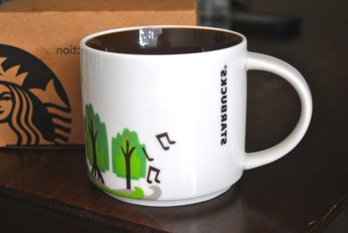 Starbucks New Orleans Ceramic Coffee Here Series