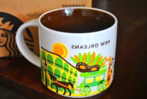Starbucks New Orleans Coffee Mug Here Cup