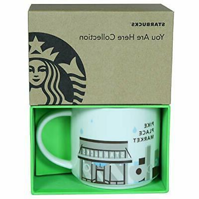 Starbucks You Are Here- Pike Place Market Mug, 14 Fl Oz
