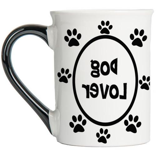 Tumbleweed - Dog Lover - Cute Dog Mug - 18 Ounce Ceramic Lar