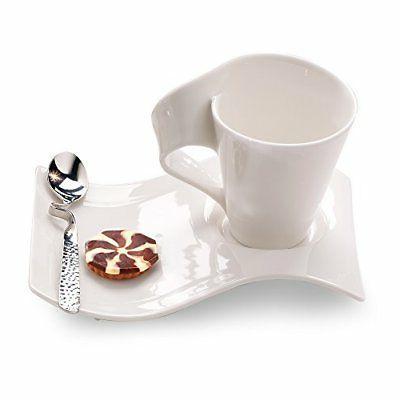 Villeroy & Boch New Wave Caffe Mugs, Set of 2