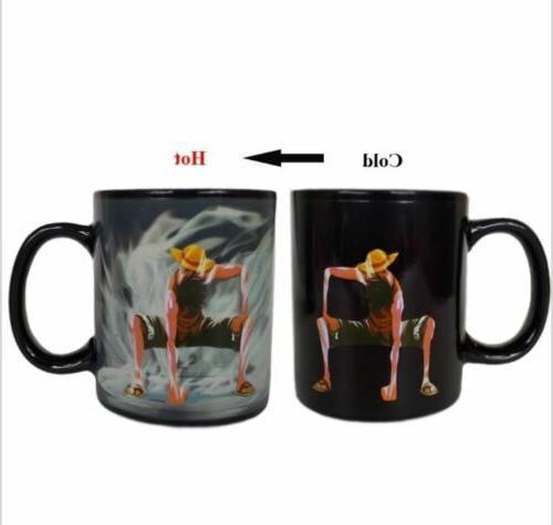new heat reactive changing color magic mug