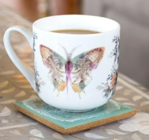 art kitchen dining 12oz porcelain coffee mug
