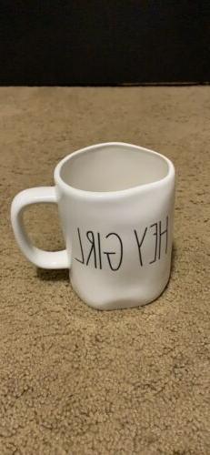 Rae Dunn Artisan Collection by Magenta Hey Girl Coffee Mug L