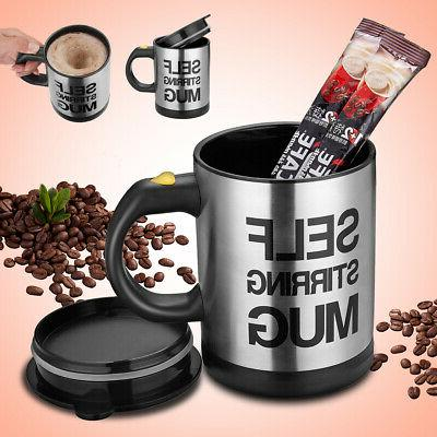 Automatic Stirring Coffee Cup Home Stainless 400ml