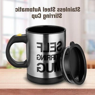 automatic self stirring mug coffee cup mixer