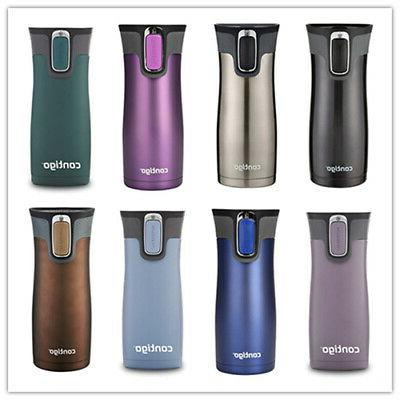autoseal vaccuum insulated stainless steel mug