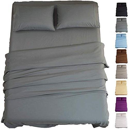 bed sheet set super soft