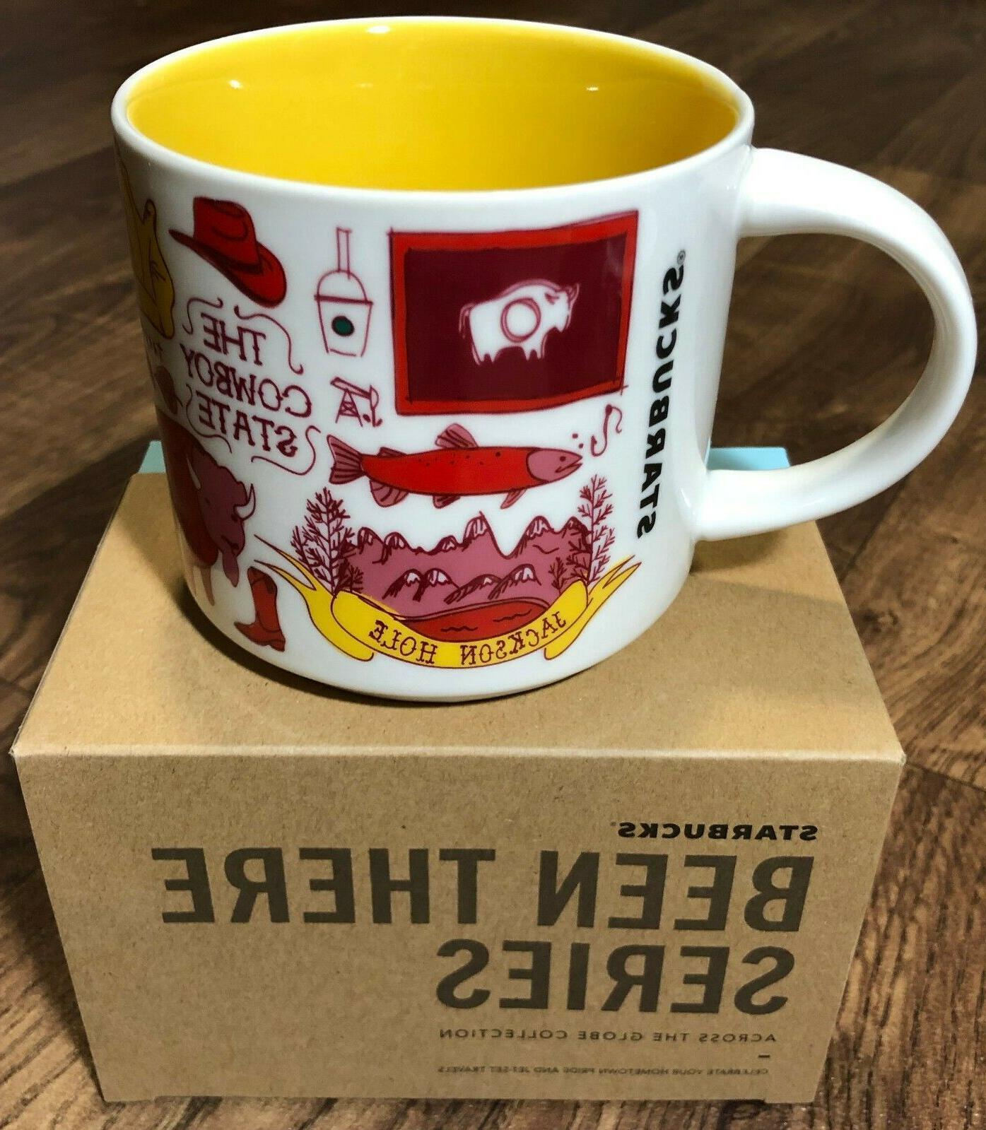Starbucks 14oz. Mug WYOMING - NEW!