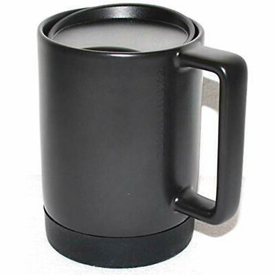 Black Ceramic Desktop Silicone Nonslip Press-in Oz