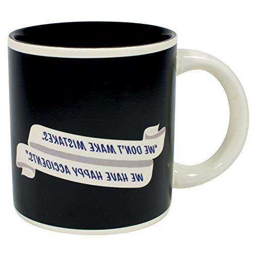 Bob Ross Heat Mug - or Tea Happy Scene - Comes a Fun