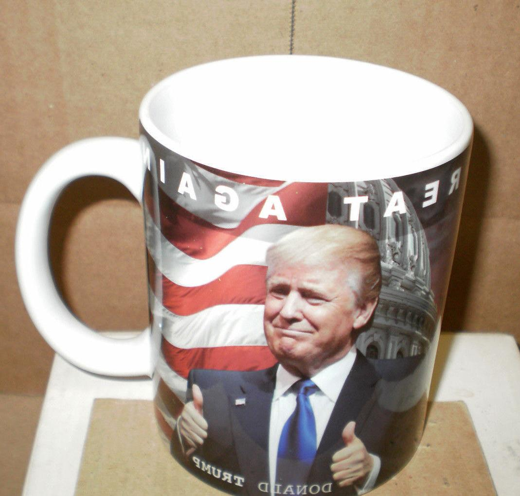 Brand New Donald Trump Ceramic Coffee