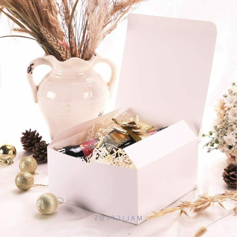 Bridesmaid White Gift with 30pcs Cupcake