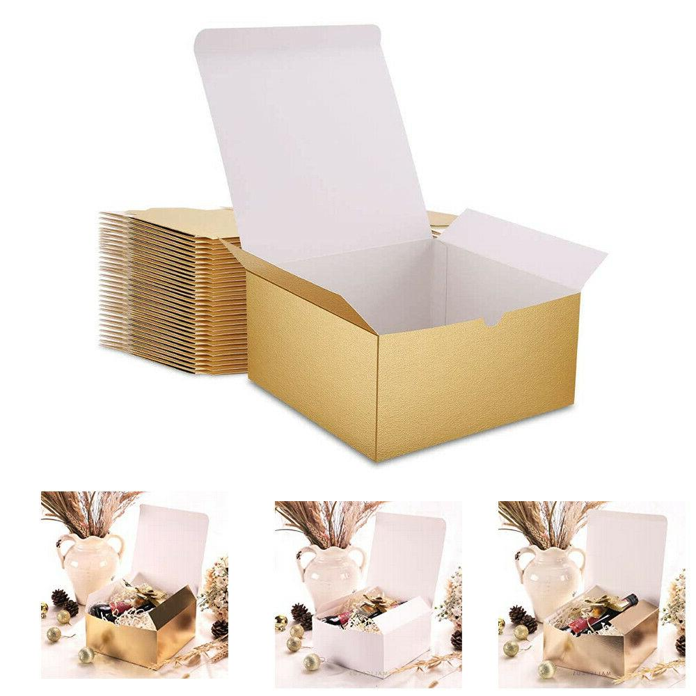 bridesmaid white gift boxes with lids 10