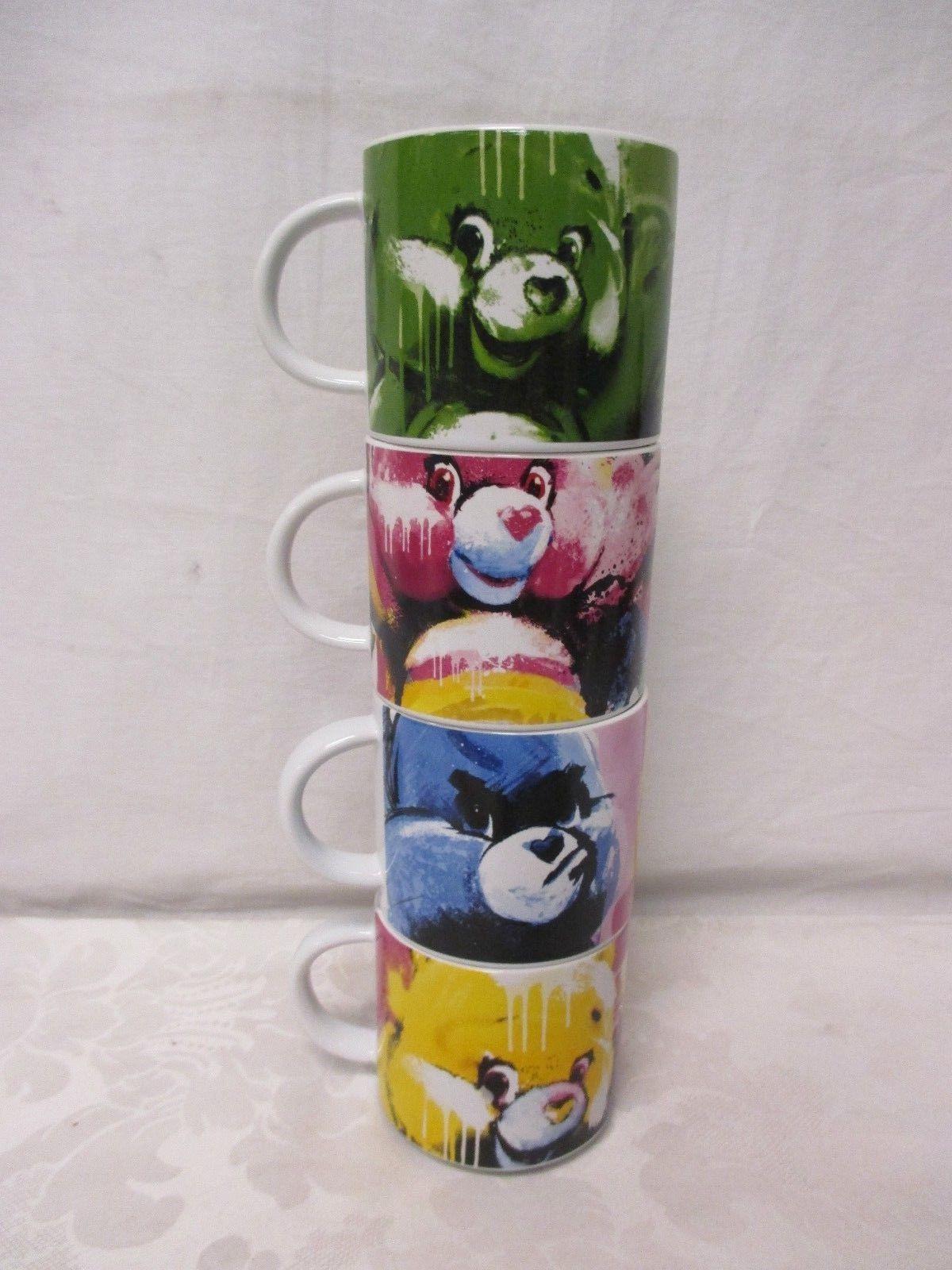 Vandor Care Bears Stacking Mugs 4 In Set Brand New