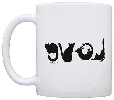 Cat Gifts for Women Love Spelled with Cats Cat Lover Gifts C