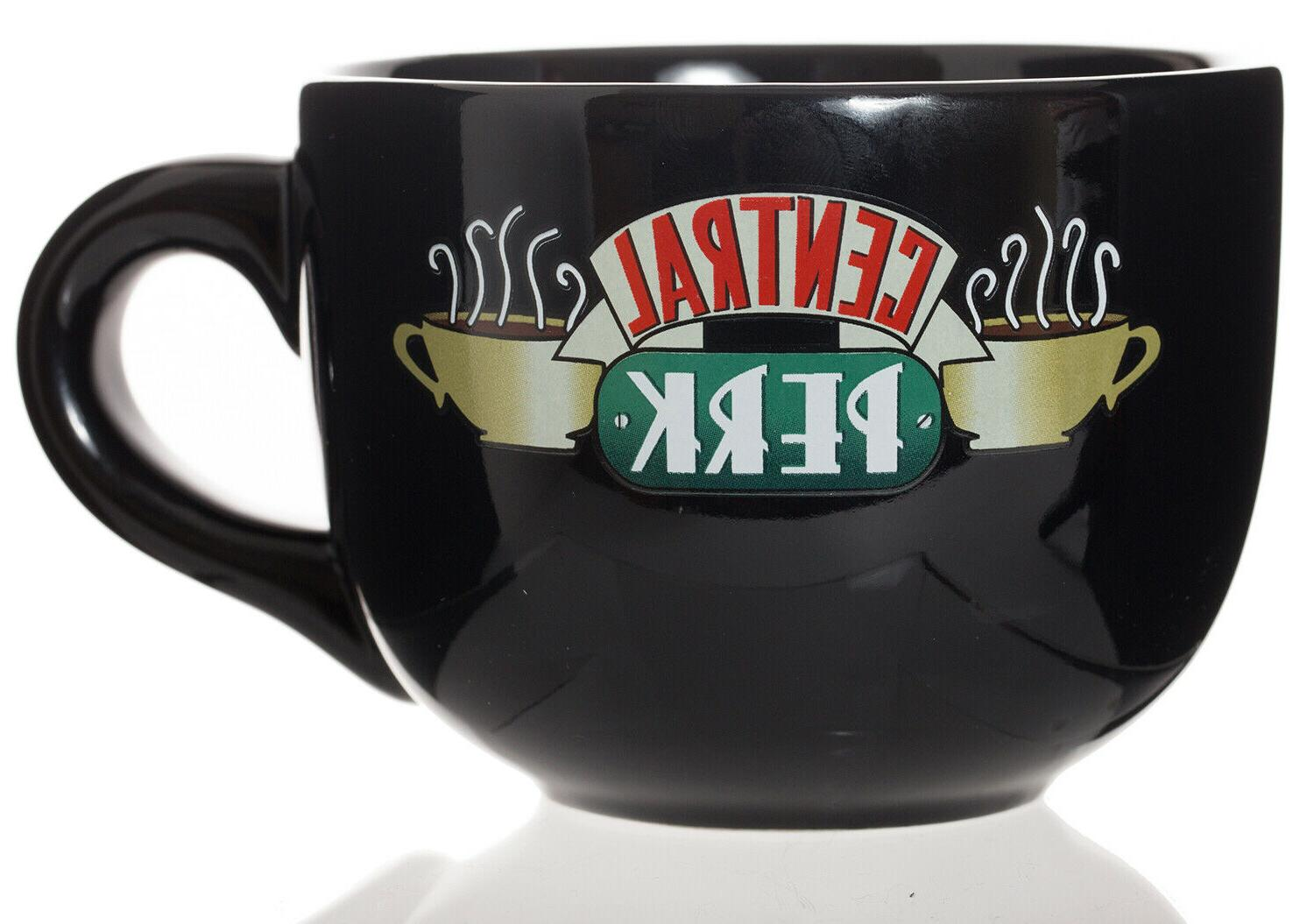 central perk latte coffee mug 16 oz