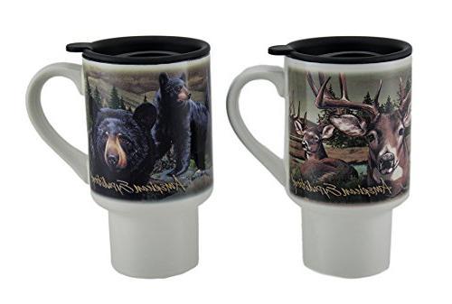 ceramic mugs american expedition bear