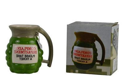 Funny Grenade Ceramic Coffee Gun Party