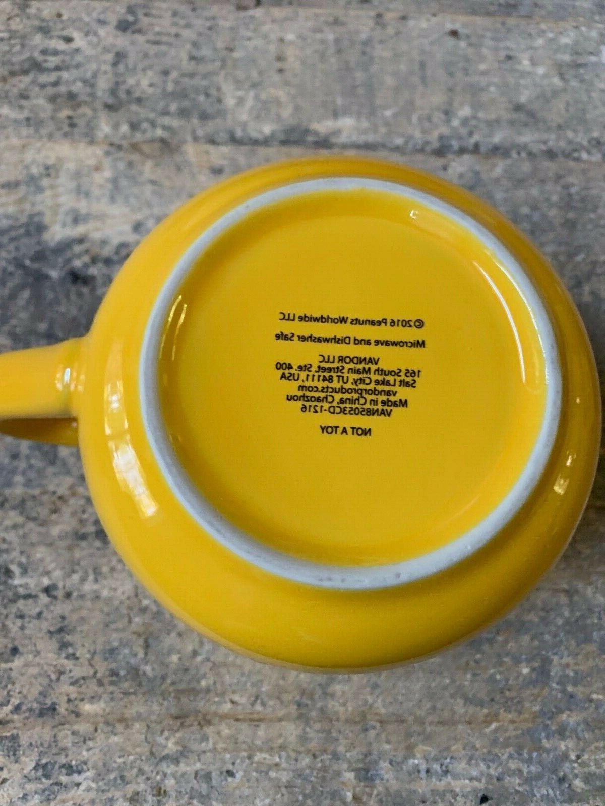 Charlie Brown Large Yellow Mug Light Bulb Mug