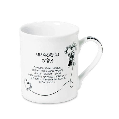 Enesco 4004610 & Wife Mug