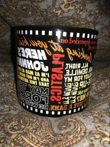 Classic Coffee Cup Movie Quotes