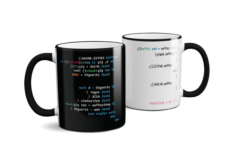 coffee code mug funny novelty tea cup