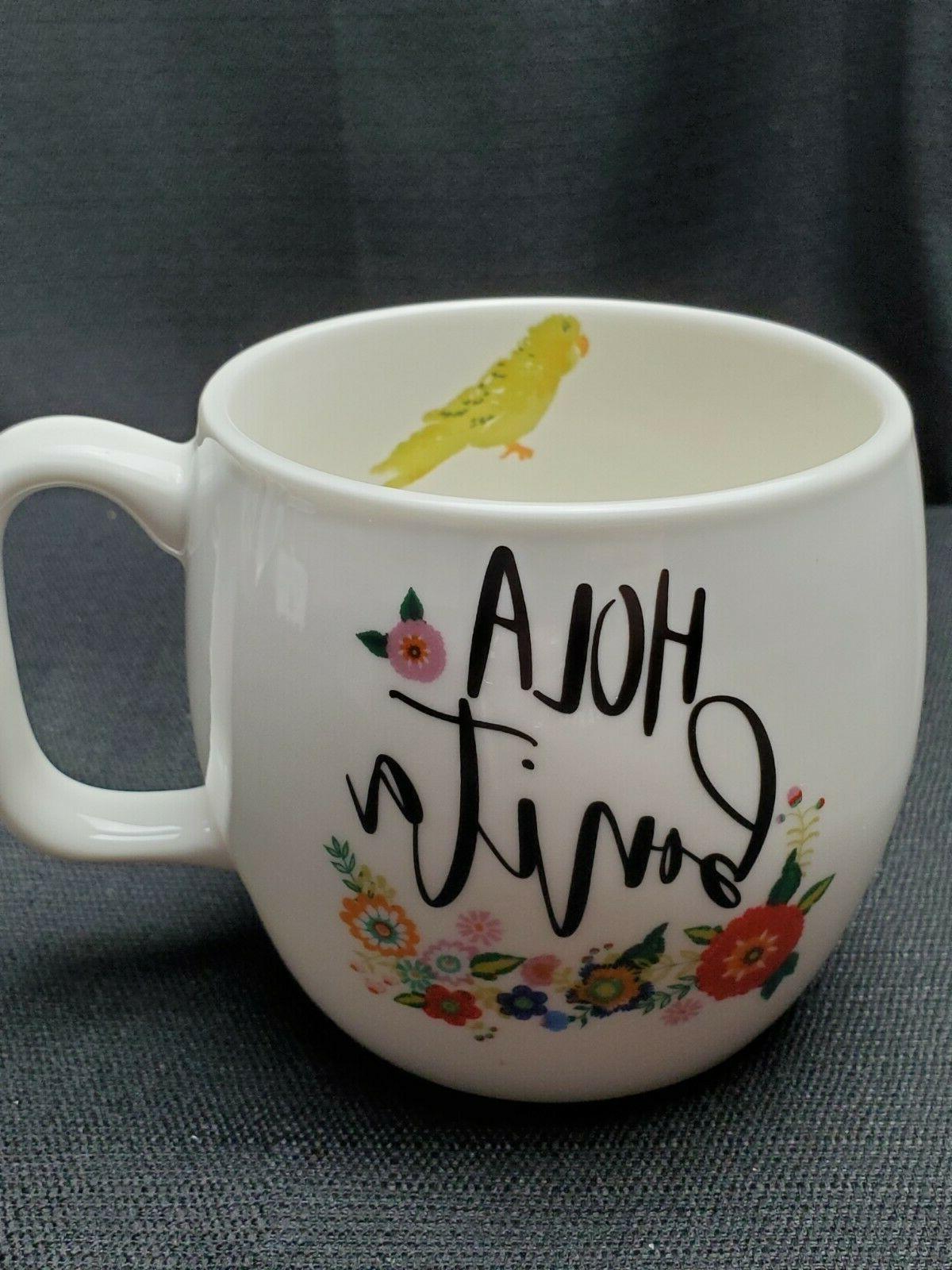 Opalhouse Mug Bonita Target Bird 16 Oz Beautiful Cup